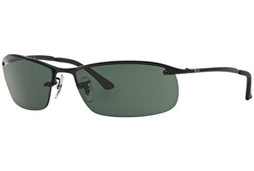 ray-ban-mann-rb-3183-schwarz-green-polycarbonatglas-sonnenbrille-lenses-63-mm