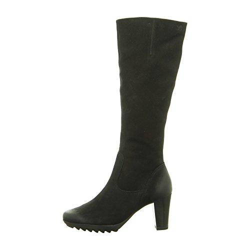 Caprice 9-9-25601-27-008, Bottes pour Femme Black Nubuc