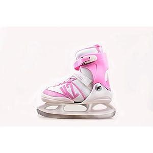 K2 Skates Kinder Ice Skates Schlittschuhe Annika LTD – Rosa-Weiß – 25C0191.1.1 – EU 32-37 / M