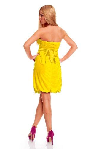 Jela Londres bandeau robe de cocktail en plusieurs couleurs (20136) Jaune