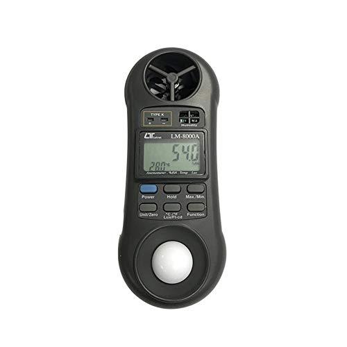 Digitale Heißer-Film-Anemometer Wind Geschwindigkeit Meter Luft Geschwindigkeit wth temperatur messung 40 mt/s Daten Halten zu PC über USB -