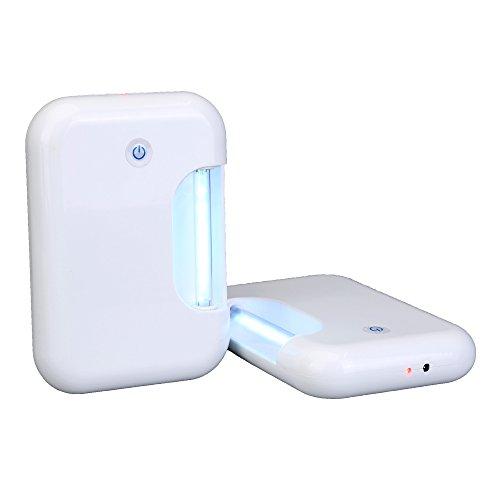 Lightop UV desinfectante Ozono Esterilizador Lámpara Luz contra Muffe Germi ácaros Batteri para baño...