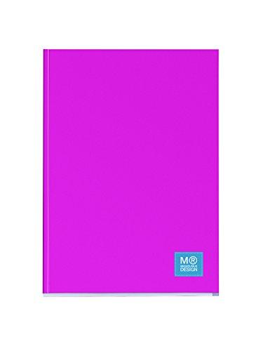 miquelrius-2837-1-farbe-block-mit-deckel-a4-notizbuch-80-blatt-kariert-pink-80-gramm