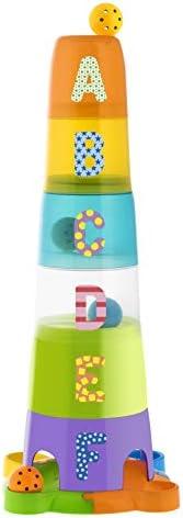 Chicco Super Torre Aplilable - Puzzle verticalde de 62 cm de alto y divertidas piezas encajables - Incluye 6 b