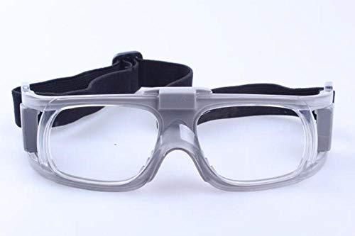 Match-brillen-brillen Herren (Defect Blauer Ball Brille Fußball Gläser können Match Kurzsichtigkeit Brille Outdoor Sport Brille Basketball Spiegel)