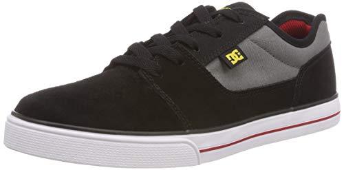 DC Shoes Jungen Tonik Skateboardschuhe Grau (Black/Grey/Red - Combo Xksr) 34 EU