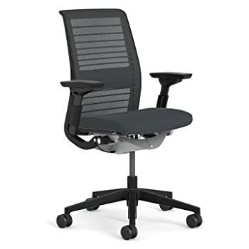 Steelcase Think 3d Mesh Fabric Chair Blue Black