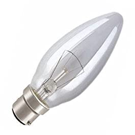 10 x 40 Watt AC vela lámpara