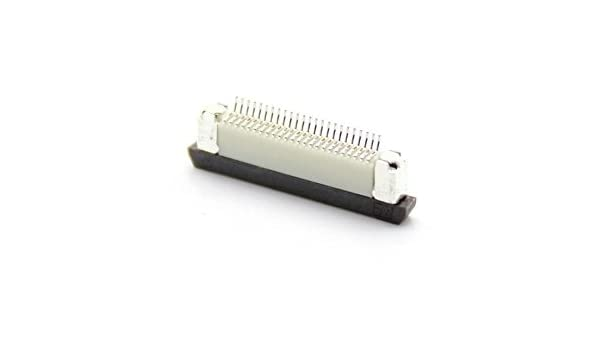 FPC 24-pin 0 5mm Flexible Printed Circuit Connector: Amazon in