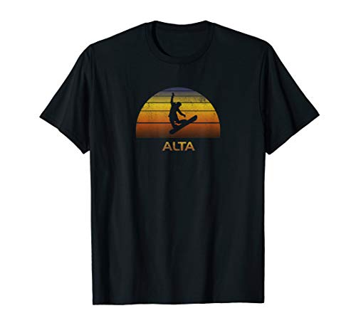 Alta Utah Snowboard Shirt Clothes Gift Ski Utah Ski Snowboard
