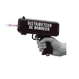Mister Gadget Pistola dispensador, mg3139, Rojo, Negro