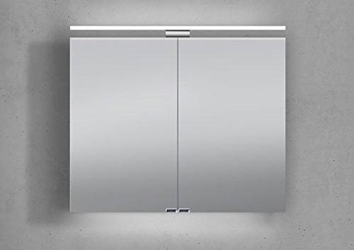 Spiegelschrank doppelt verspiegelt - 80 cm