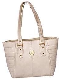 Cocksure Off White Cream Women's Handbag Women's Handbag Ladies Handbag Coffee Color 1p