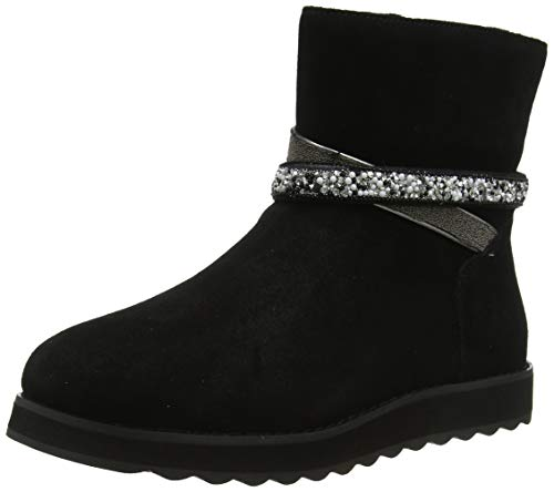 Skechers KEEPSAKES 2.0, Women Ankle Boots, Black (Black Suede Blk), 6 UK (39 EU)
