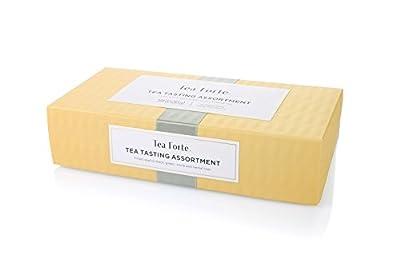 Tea Forte coffret découverte 10 pyramides Sampler thé noir, blanc, vert et infusion