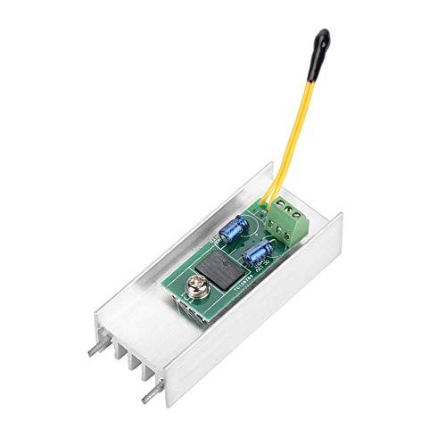 12V 1A Automatik-Thermostat-Drehzahlregler Kleine Lüfter Temperaturregler für Gehäuse Schrank Computer Lüfter Temperaturregelung (Kleinen Computer-lüfter)