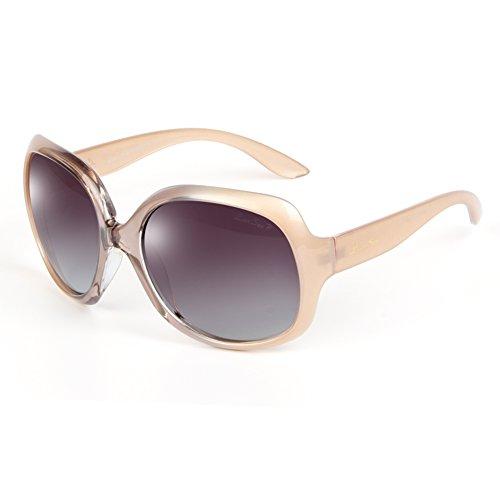 LianSan Sonnenbrille Designer Mode Damen Herren UV400Schutz Polarisierte Oversize Sonnenbrille lsp301, lsp301