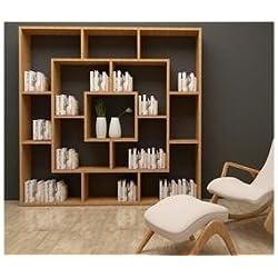 FRAME Librería de salón - Nogal - Librerías de oficina - Estantería o librería - Estantería de madera