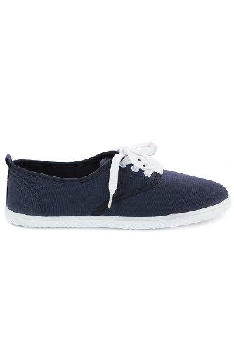 Go Tendance ,  Sneaker donna Blu (Bleu Marine)