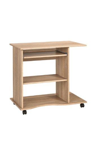 MAJA-Möbel 4024 5525 Computertisch, Sonoma-Eiche-Nachbildung, Abmessungen BxHxT: 80 x 75 x 50 cm