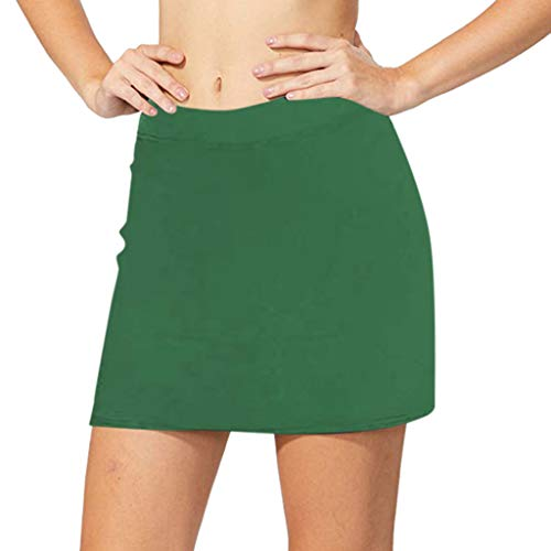Auifor❤Damen Active Skorts Leistungsrock Running Tennis Golf Workout Sports
