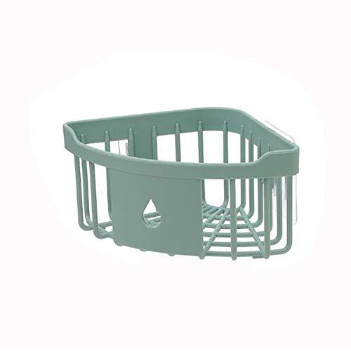 Nahtlose Dreieck (XNNDD Eckregal Home Badezimmer Küche Nahtlose Paste Hohl Design Dreieck Design Große Kapazität Eckregal)