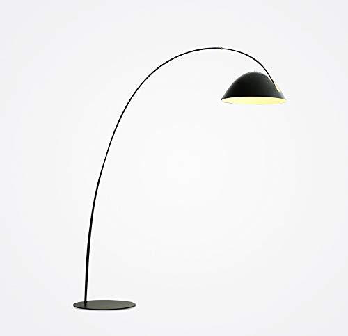 Metall-modernes Sofa (Feng tata Große kreative Stehlampe, nordische minimalistische Moderne Metall industrielle Sofa Angeln Wohnzimmer neoklassisches Design große Stehlampe schwarz E27)