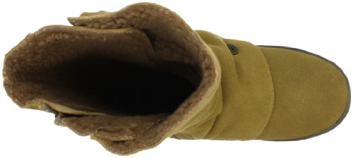 Blowfish Rammed FURR leather BF2487SH-L AU12, Bottes femme Beige-TR-E4-48