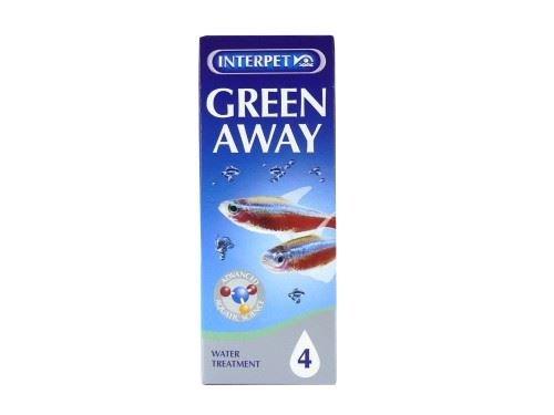 (6 Pack) Interpet - Aquarium Treatments Green Away No4 1