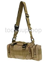 Alcoa Prime Fishing Bag Waist Pack Shoulder Bag Tackle Pouch Detachable Adjustable Strap