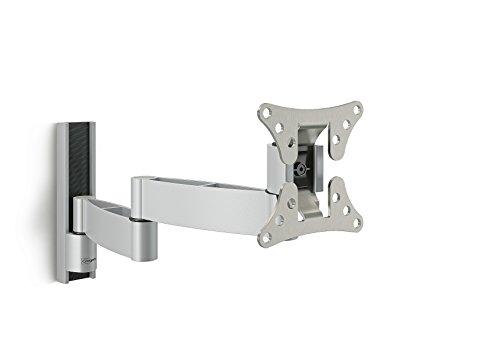 Vogel's WALL 1045 S TV-Wandhalterung für 17-26 Zoll Fernseher, 180° schwenkbar, silber
