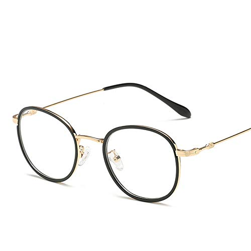 Yiph-Sunglass Sonnenbrillen Mode TR90 Optical Frame Flat Lens Glasrahmen Männer und Frauen LUE Shading-Brille für Sutdents/Büroangestellte