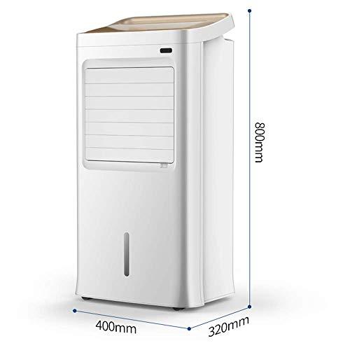 MU Home Wohnzimmer Schlafzimmer Fan-Fan Klimaanlage, warm und kalt, sauber und luftfeucht, leise Energiesparender Haushaltsluftkühler 400 * 320 * 800 mm