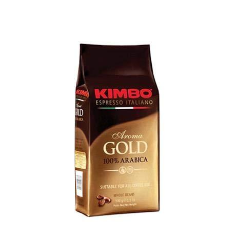 Kimbo Gold Espresso 100% Arabica, Espresso-Bohnen , 500 g