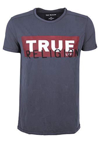 True Religion Herren T-Shirt anthrazit (14) XXL