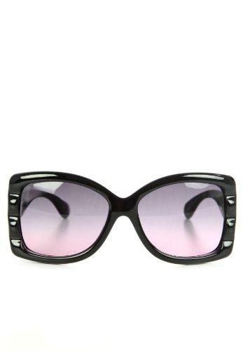 John Galliano Designer Damen Sonnenbrille Schwarz