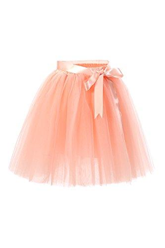 Babyonline Damen Prinzessin Falten Rock Vintage Kleid Spitzen Rock Midirock Ballettrock Tüllrock...