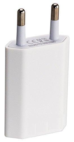 Chargeur secteur USB 5 Watt, 1A, Adaptateur secteur Mural pour les portables Iphone, SAMSUNG GALAXY S6, S5, Tablette, etc. VEOSHOP