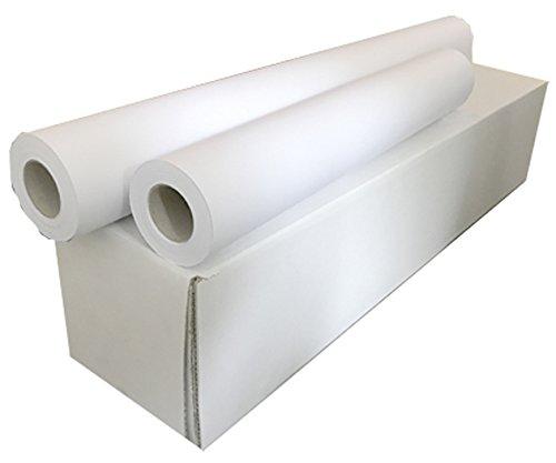 Sa.Ba.Cart 17391405050p00080Packung 4Rollen Plotterpapier A0, matt Inkjet-Papier, 914mm x 50mt, Bohrung 50, 80g/qm