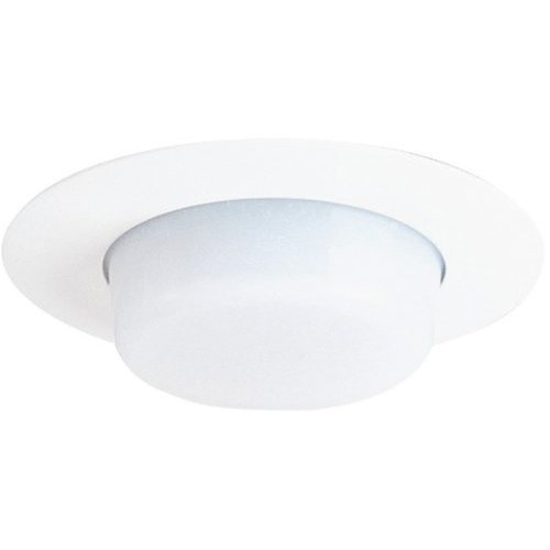 Wh Open-trim (Juno Lighting 11-WH 4-Inch Drop Opal Trim, White with White Lens by Juno Lighting)