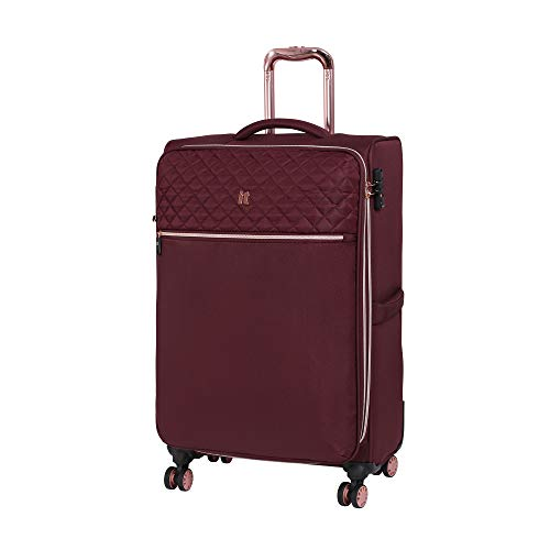 it luggage Divinity 8 Wheel Lightweight Semi Expander Suitcase Medium with TSA Lock Koffer, 70 cm, 90 liters, Rot (Zinfandel)