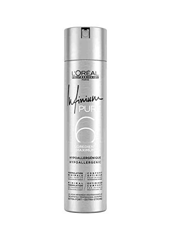 2er Infinium 6 Pure Extra Strong Hairspray Loreal Professionnel 300 ml
