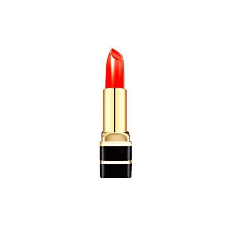 DOGZI Waterproof Long Lasting Matte Liquid Lipstick Beauty Lip Gloss, 1Pc Transparentes Gelee Temperaturänderung Lippenstift Temperaturwechsler