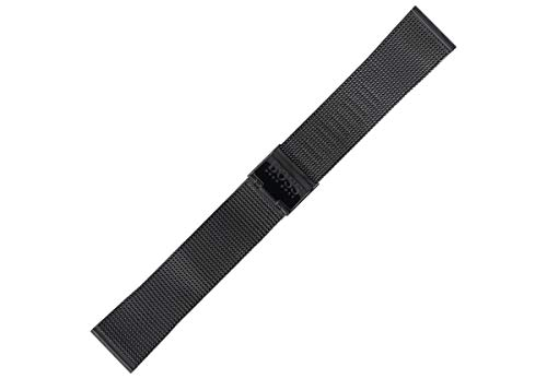 Hugo Boss Uhrenarmband 20 mm Edelstahl Schwarz - 659002565