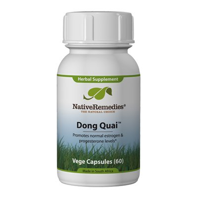 Native Remedies Dong Quai 60 Capsules - Natural Supplement to Support Healthy Hormonal Balance, Healthy Reproductive Function & Maintain Healthy Estrogen and Progesterone Levels
