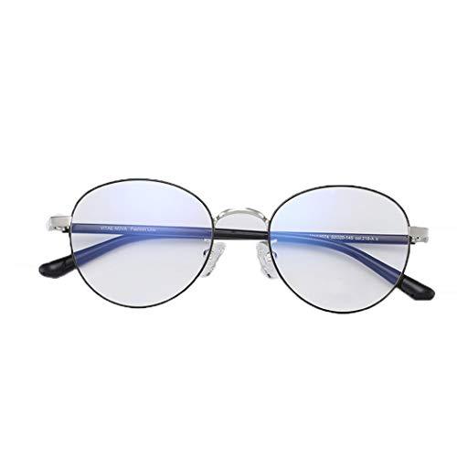 Vollformatige Metallbrille, optionaler unisex mehrfarbiger Brillenrahmen,A,Onesize