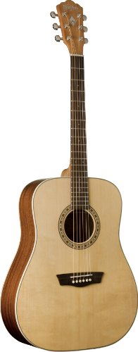WASHBURN WD7SN GUITARRA ACUSTICA   BRILLANTE NATURAL