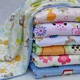 #9: Clastik Multipurpose Soft Baby Blanket(0-2 Years) Multicolour