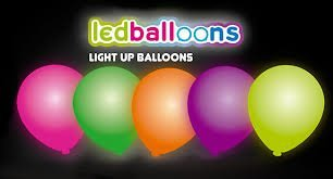 ige LED Leuchten Party Ballons ca. 10