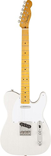 Fender Classic Series '50s Telecaster Lacquer White Blonde MN